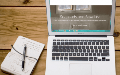 Soapsuds and Sawdust: New Website